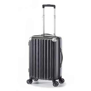 スーツケース ハードキャリー 31L カーボンブラック ALI-6008-18 [TSAロック搭載]