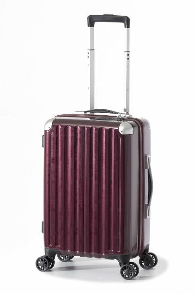 スーツケース ハードキャリー 31L カーボンワイン ALI-6008-18 [TSAロック搭載]