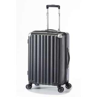 スーツケース ハードキャリー 47L カーボンブラック ALI-6008-22 [TSAロック搭載]
