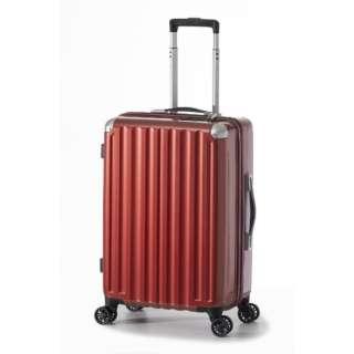 スーツケース ハードキャリー 47L レッド ALI-6008-22 [TSAロック搭載]