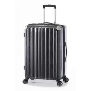スーツケース ハードキャリー 66L カーボンブラック ALI-6008-24 [TSAロック搭載]