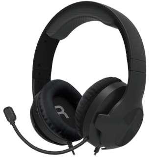 ホリ ゲーミングヘッドセット スタンダード for PlayStation 4 ブラック PS4-152 【PS4/PS5】