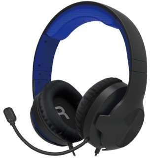 ホリ ゲーミングヘッドセット スタンダード for PlayStation 4 ブルー PS4-157 【PS4】