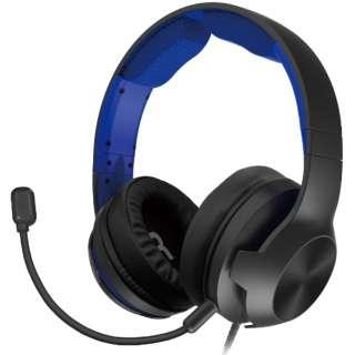 ホリ ゲーミングヘッドセット ハイグレード for PlayStation 4 ブルー PS4-158 【PS4】