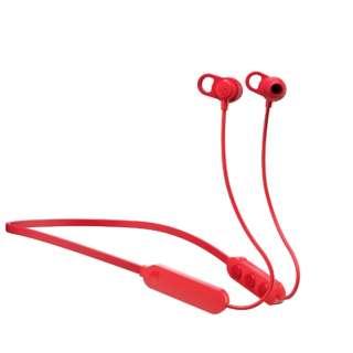 ブルートゥースイヤホン カナル型 JIB+ RED S2JPW-M010 [リモコン・マイク対応 /ワイヤレス(ネックバンド) /Bluetooth]