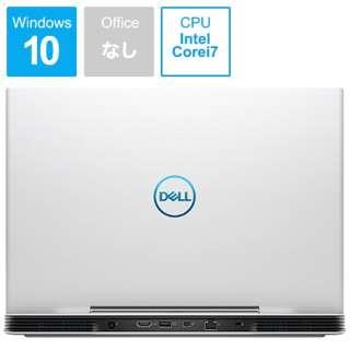 NG75VR-9NLCW ゲーミングノートパソコン Dell G5 15 5590 ホワイト [15.6型 /intel Core i7 /HDD:1TB /SSD:256GB /メモリ:8GB /2019年夏モデル]