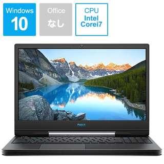 NG75VR-9NLCB ゲーミングノートパソコン Dell G5 15 5590 ブラック [15.6型 /intel Core i7 /HDD:1TB /SSD:256GB /メモリ:8GB /2019年夏モデル]