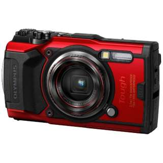 TG-6 コンパクトデジタルカメラ Tough(タフ) レッド [防水+防塵+耐衝撃]