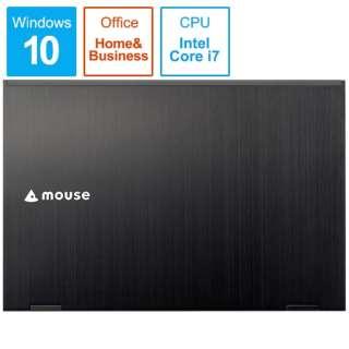 BC-MB1485UD11A-191 ノートパソコン mouse ブラック [14.0型 /intel Core i7 /SSD:512GB /メモリ:16GB /2019年6月モデル]