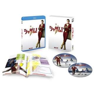 【初回仕様】シャザム! ブルーレイ&DVDセット (ブックレット付) 【ブルーレイ】