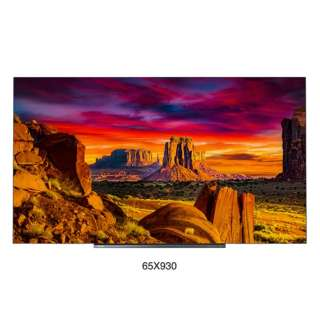 有機ELテレビ65V型 65X930 [65V型 /4K対応 /BS・CS 4Kチューナー内蔵 /YouTube対応] 【お届け地域限定商品】