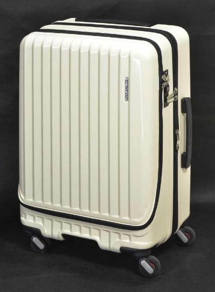 スーツケース 34L(39L) FREQUENTER(フリエンクター)Malie(マーリエ) エンボスアイボリー 1-282-35 [TSAロック搭載]