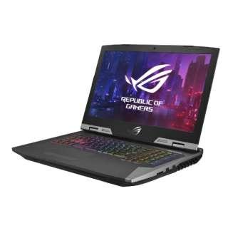 G703GXR-I9KR2080 ゲーミングノートパソコン ROG チタン [17.3型 /intel Core i9 /HDD:1TB /SSD:1.5TB /メモリ:64GB /2019年6月モデル]