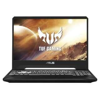 FX505DU-A7G1660T ゲーミングノートパソコン ROG TUF Gaming ブラック [15.6型 /AMD Ryzen 7 /SSD:512GB /メモリ:16GB /2019年6月モデル]
