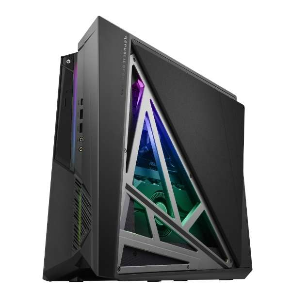 G21CX-I9R2080 ゲーミングデスクトップパソコン ROG HURACAN アイアングレー [モニター無し /HDD:2TB /SSD:512GB /2019年7月モデル]