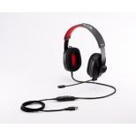 GTCG71BR01HS ゲーミングヘッドセット G-Tune ブラック [φ3.5mmミニプラグ+USB /両耳 /ヘッドバンドタイプ]