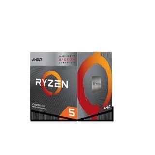 AMD Ryzen 5 3400G With Wraith Spire cooler (4C8T4.2GHz65W) YD3400C5FHBOX