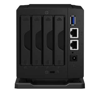 DiskStation DS419slim デュアルコアCPU搭載 コンパクト4ベイNASキット DS419slim