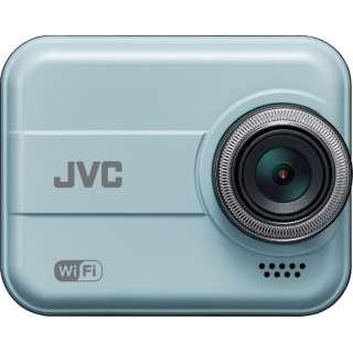 ドライブレコーダー JVC ブルー GC-DR20-A