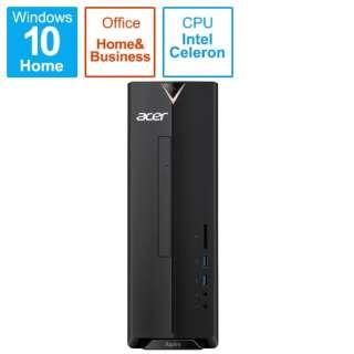 XC-830-N14F/F デスクトップパソコン Aspire XC-830 ブラック [モニター無し /HDD:1TB /メモリ:4GB /2019年6月モデル]