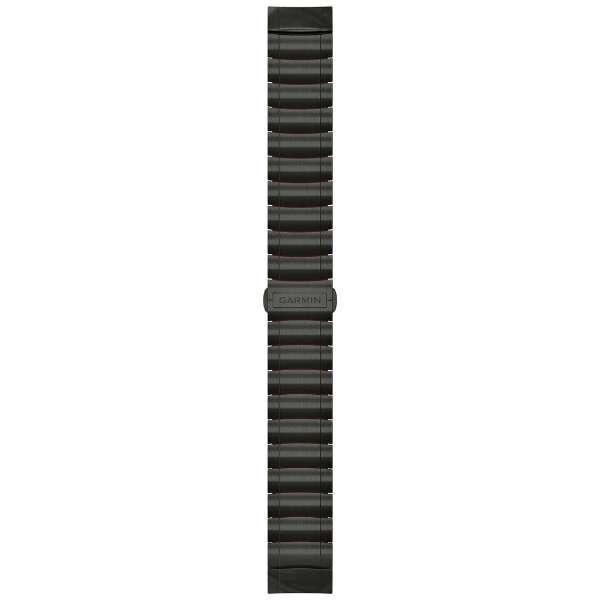 MARQ Driver用交換バンド QuickFit 22mm チタン-シリコンハイブリッドブレスレット 010-12738-10