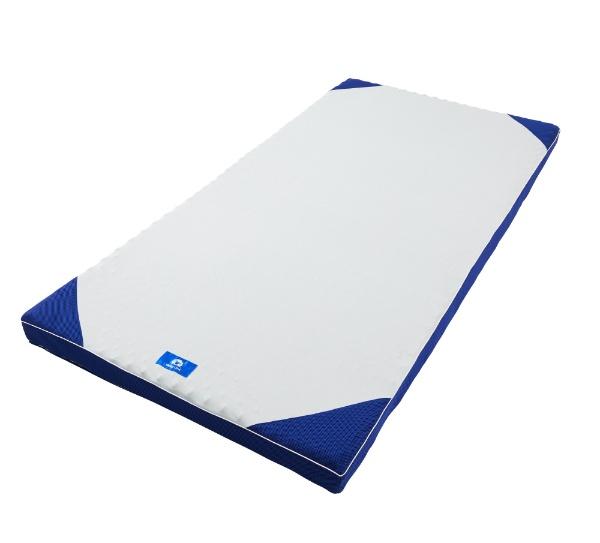 西川 横寝ケアマットレス シングルサイズ(8×97×195cm/ブルー) HC09008001 HC09008001 ブルー [97×195×8cm]