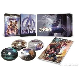 アベンジャーズ/エンドゲーム 4K UHD MovieNEX プレミアムBOX(数量限定) 【Ultra HD ブルーレイソフト】