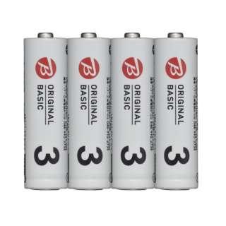 LR6BKOS-4P 単3電池 シュリンクパック [4本 /アルカリ]