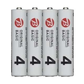 LR03BKOS-4P 単4電池 シュリンクパック [4本 /アルカリ]