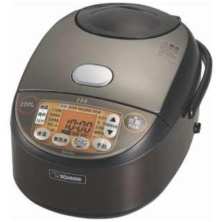 NW-VA10-TA 炊飯器 極め炊き ブラウン [5.5合 /IH]
