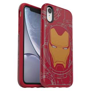シンメトリーシリーズ IRON MAN for iPhone XR [ I Am Iron Man ] 77-61141