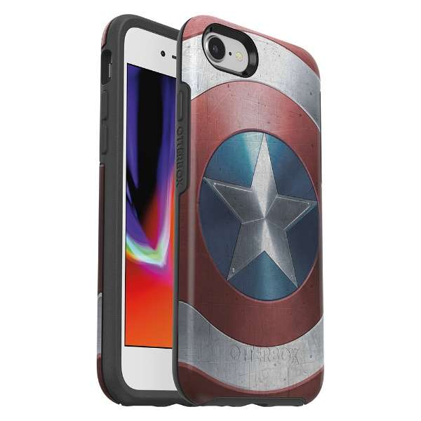 シンメトリーシリーズ Captain America for iPhone 8/7 77-62063