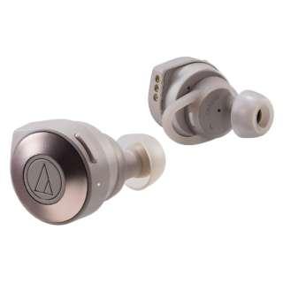 フルワイヤレスイヤホン カーキ ATH-CKS5TW KH [リモコン・マイク対応 /ワイヤレス(左右コード) /Bluetooth]