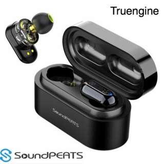 フルワイヤレスイヤホン SoundPEATS Truengine [ワイヤレス(左右分離) /Bluetooth]