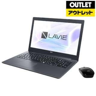 【アウトレット品】 15.6型ノートパソコン [Win10 Home・Core i7・HDD 1TB・Optane 16GB・メモリ 8GB・Office] LAVIE Note Standard(NS700/MAシリーズ)  PC-NS700MAB カームブラック 【外装不良品】