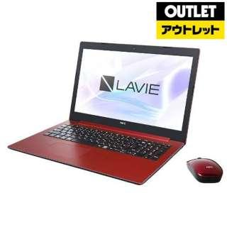 【アウトレット品】 15.6型ノートPC [Win10 Home・Core i7・HDD 1TB・Optane 16GB・メモリ 8GB・Office] LAVIE Note Standard(NS700/MAシリーズ)  PC-NS700MAR カームレッド 【外装不良品】