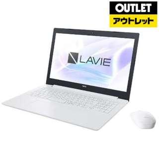 【アウトレット品】 15.6型ノートPC [Win10 Home・Core i7・HDD 1TB・Optane 16GB・メモリ 8GB・Office] LAVIE Note Standard(NS700/MAシリーズ)  PC-NS700MAW カームホワイト 【外装不良品】