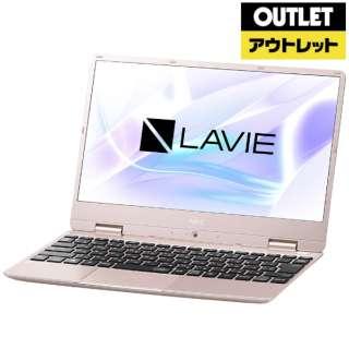 【アウトレット品】 12.5型ノートPC [Win10 Home・Core i5・SSD 256GB・メモリ 8GB・Office] LAVIE Note Mobile(NM550/MAシリーズ)  PC-NM550MAG メタリックピンク 【外装不良品】