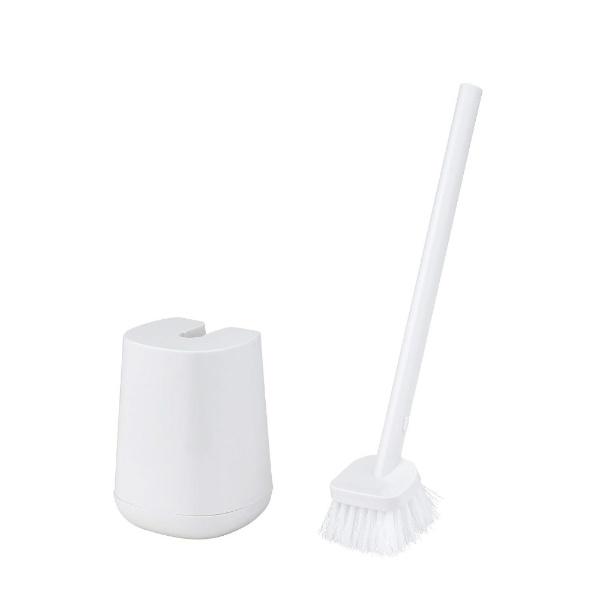 CORRON トイレブラシ  オープンケース付き  ホワイト B00155 ホワイト