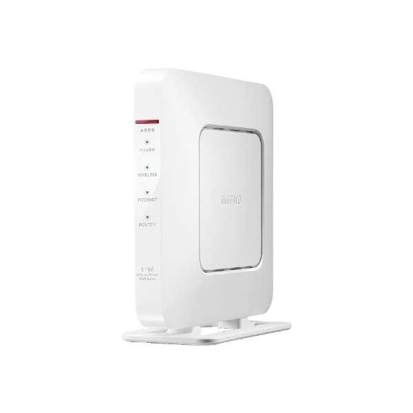 WSR-1166DHP4-WH Wi-Fiルーター ホワイト [ac/n/a/g/b]
