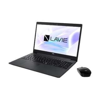 PC-NS600NAB ノートパソコン LAVIE Note Standard カームブラック [15.6型 /AMD Ryzen 7 /メモリ:4GB /2019年夏モデル]