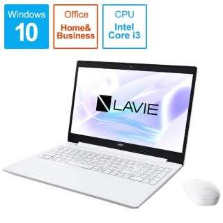 PC-NS300NAW ノートパソコン LAVIE Note Standard(NS300/NAシリーズ) カームホワイト [15.6型 /intel Core i3 /HDD:1TB /Optane:16GB /メモリ:4GB /2019年夏モデル]