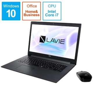 PC-NS850NAB ノートパソコン LAVIE Note Standard(NS850NAシリーズ) カームブラック [17.3型 /intel Core i7 /HDD:1TB /SSD:256GB /メモリ:8GB /2019年夏モデル]