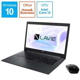 PC-NS350NAB ノートパソコン LAVIE Note Standard(NS350NAシリーズ) カームブラック [17.3型 /intel Core i3 /HDD:1TB /Optane:16GB /メモリ:4GB /2019年夏モデル]