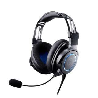 ATH-G1 ゲーミングヘッドセット ブラック [φ3.5mmミニプラグ /両耳 /ヘッドバンドタイプ]