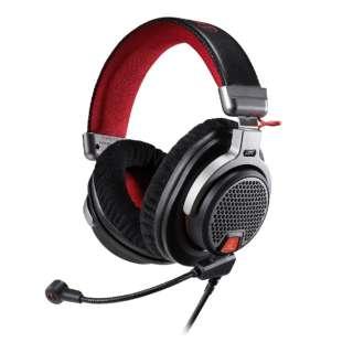 ATH-PDG1a ゲーミングヘッドセット グレー [両耳 /ヘッドバンドタイプ]
