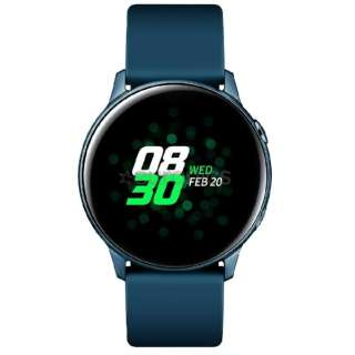 SM-R500NZGAXJP ウェアラブル端末 Galaxy Watch Active グリーン