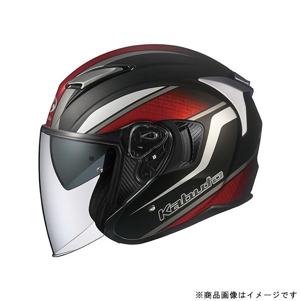 オージーケーカブト 584528 ジェットヘルメット EXCEED DEUCE XS フラットブラック