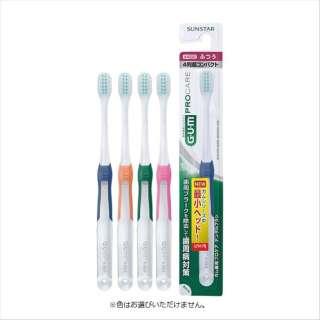 G・U・M(ガム) 歯ブラシ 歯周プロケア デンタルブラシ #488 4列超コンパクトヘッドふつう