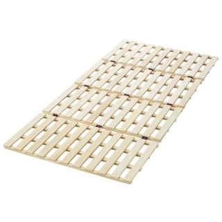 ロングタイプ 桐 すのこ ベッド シングル 幅100×長さ210cm [シングルロングサイズ]